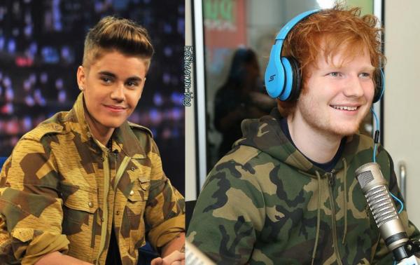 Ed ne fera pas de duo avec Justin Bieber