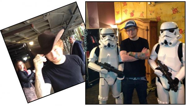 Ed sur Instagram + Vidéo de tournée