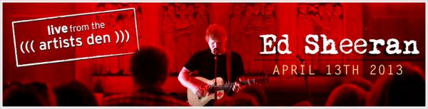 Prochainement Ed à l'Artists Den du 13 avril 2013