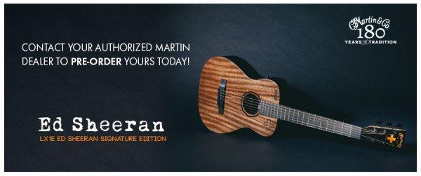 EACH bénéficie des guitares Ed Sheeran