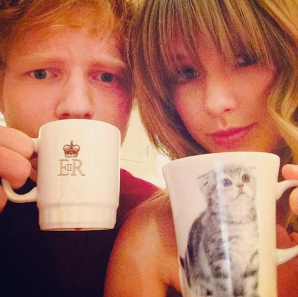 Ed et Taylor en séance photo