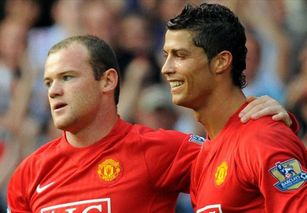 Rooney names his two best Manchester United team-mates