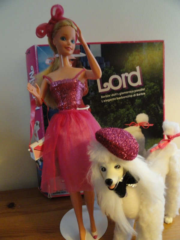 Barbie Day To Night et son Chien Mylord