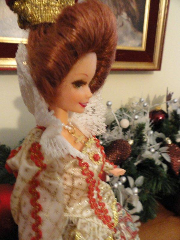 Elizabethan Queen collector Barbie