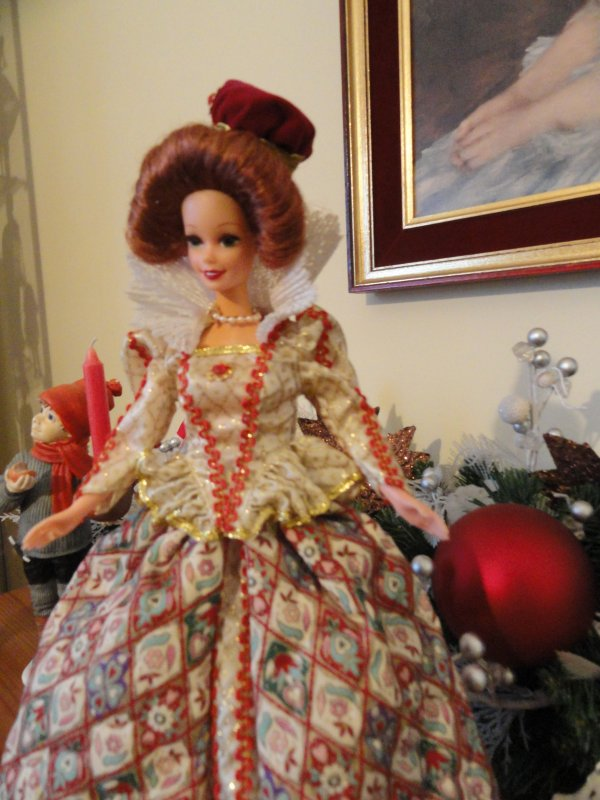 Elizabethan Queen collector Barbie