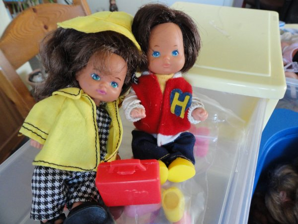 et encore Shelly, Heart Family 1985...de Mattel