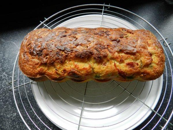Cake au chorizo miam miam