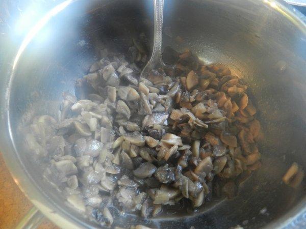 Roulés de dinde à la duxelle de champignons