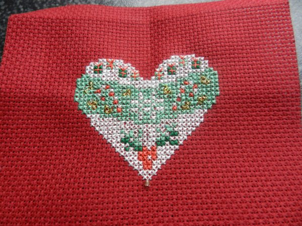 Petit coeur de Noel