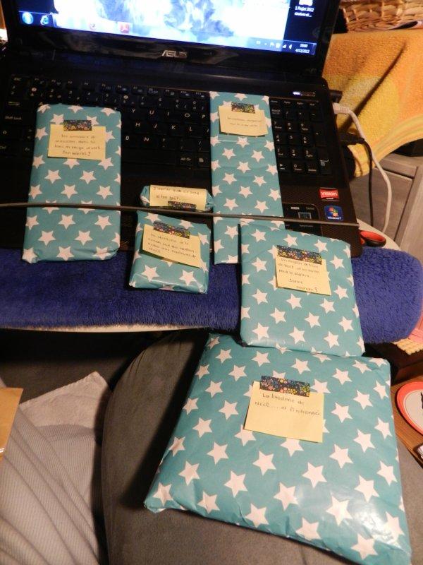 Les cadeaux de Noel !!!!!! yessssssssss