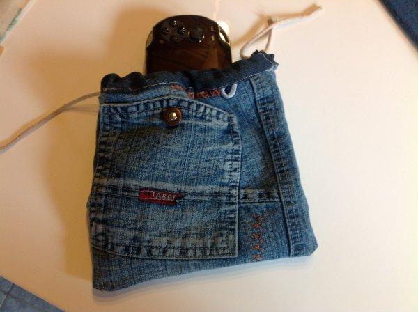 Des pochettes en jeans