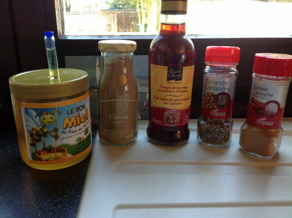 Magret de canard laqué au miel