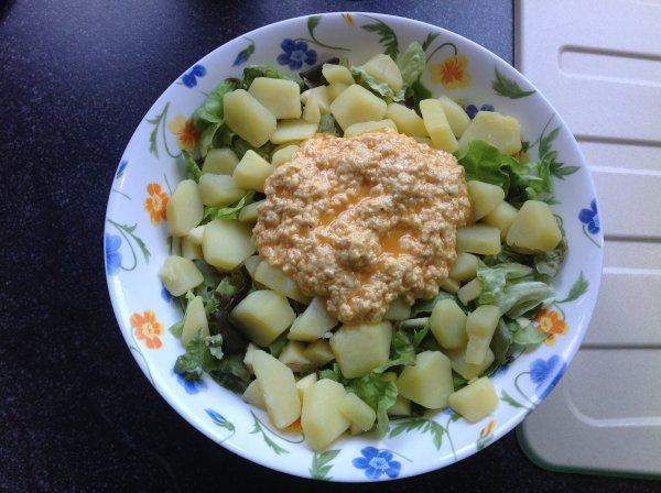 Salade de pommes de terre façon Mary et Hermine et... moi lol
