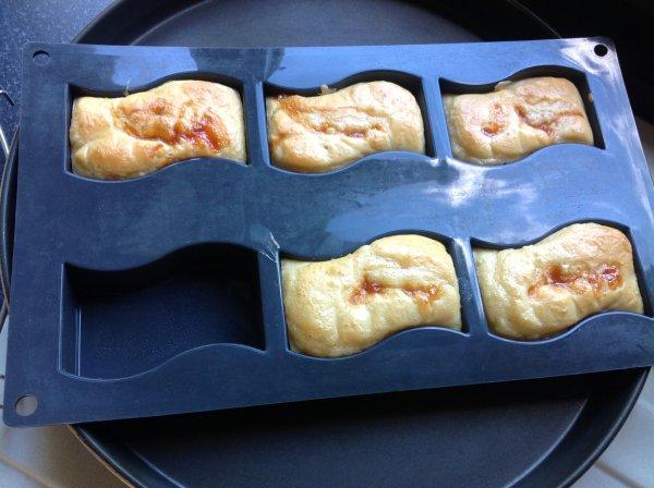 Mini cakes façon hot dog pour l'apéro