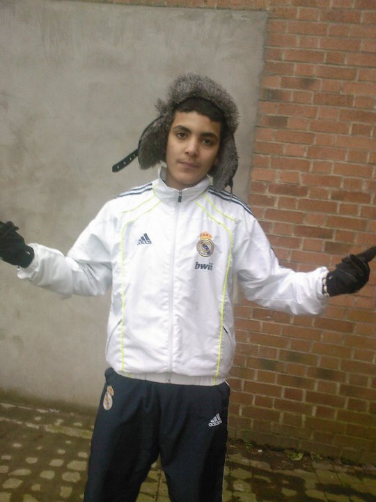 Moi en mode Real Madrid