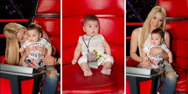 Shakira et son bebe