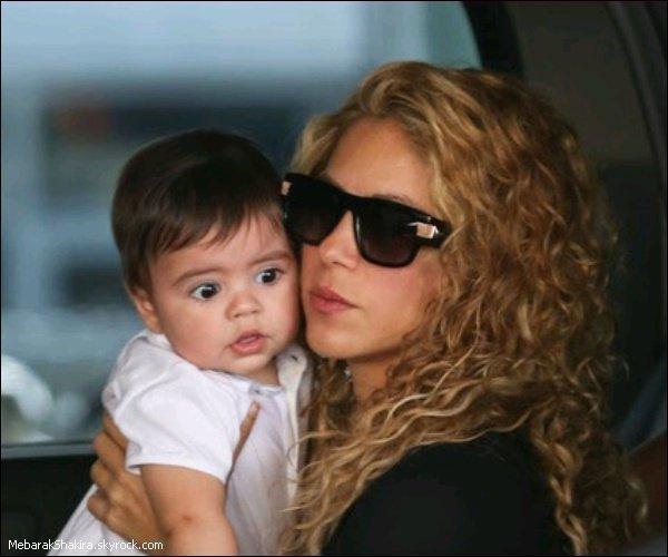 Shakira et son bébé Milan