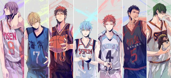 Fin du manga Kuroko no Basket ! (ι´Д`)ノ