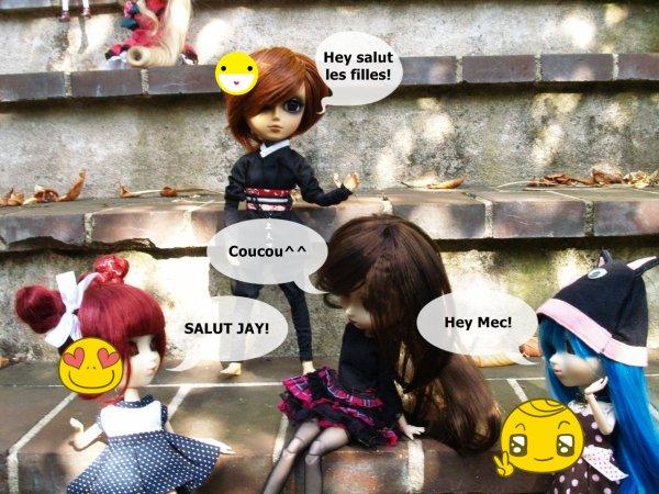Rencontre pullipienne avec Japan-Pullip Lolita et Sucrette Jumelle^^