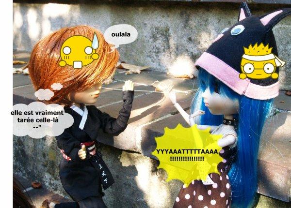 Rencontre pullipienne avec Japan-Pullip Lolita et Sucrette Jumelle^^ suite