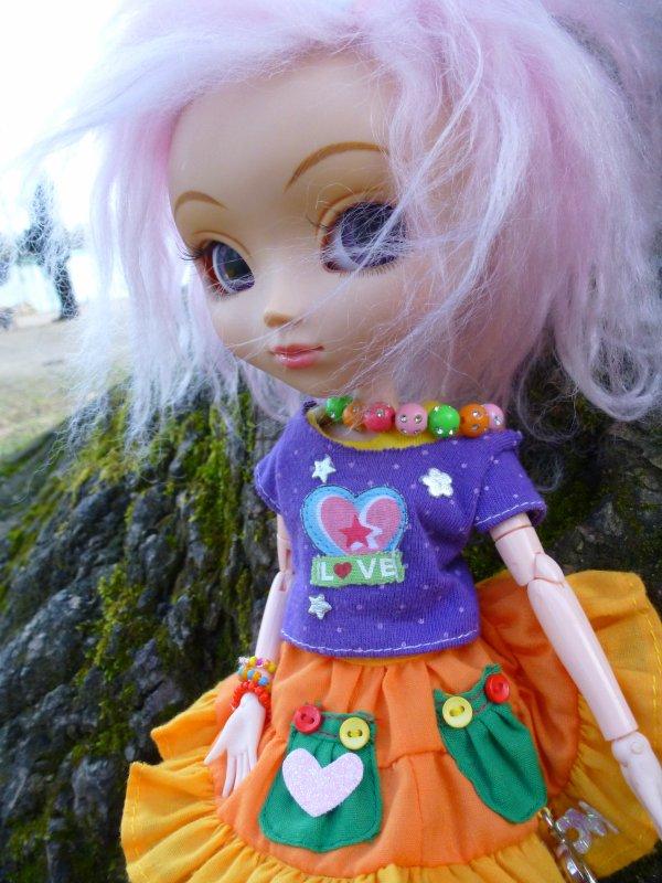 Ma petite princesse au vent! ♥ (1)