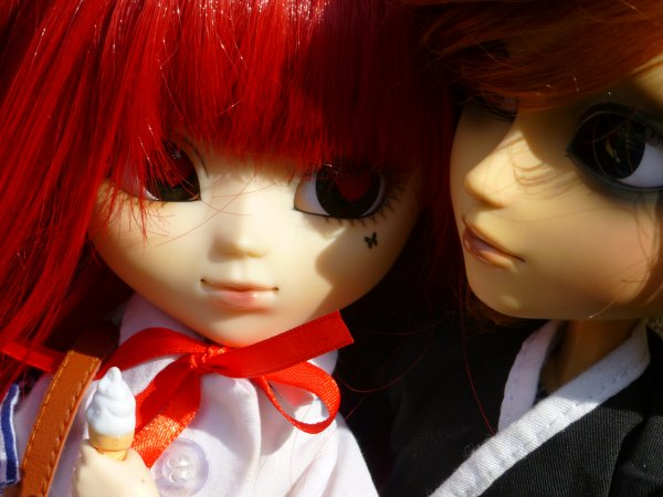 Rencontre pullipienne avec Fan-2-Pullip, Ptis couples (2)