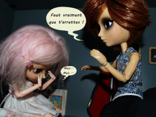Ptits problèmes dans la Doll-House: Les violons du coeur (story!) Part. 7