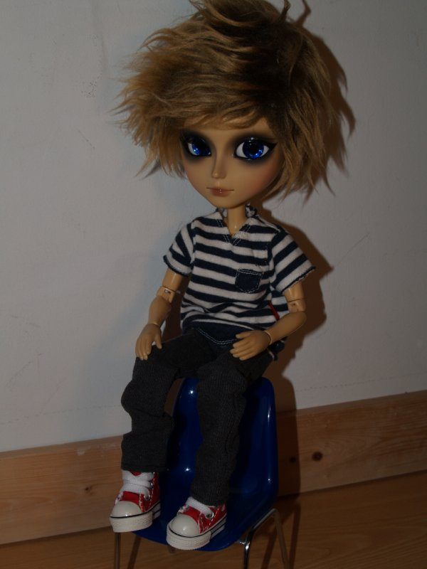 Customisation de Jaden !