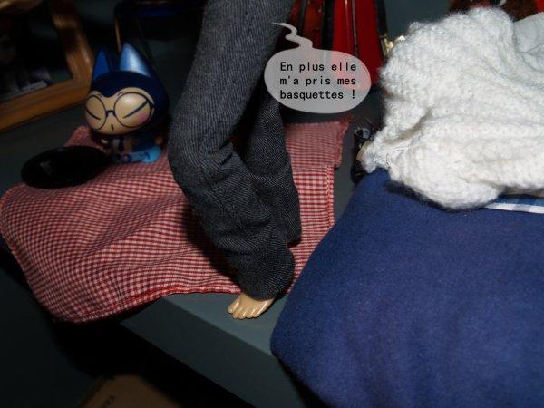 Du mouvement ce matin dans la Doll-House ! Part. 2