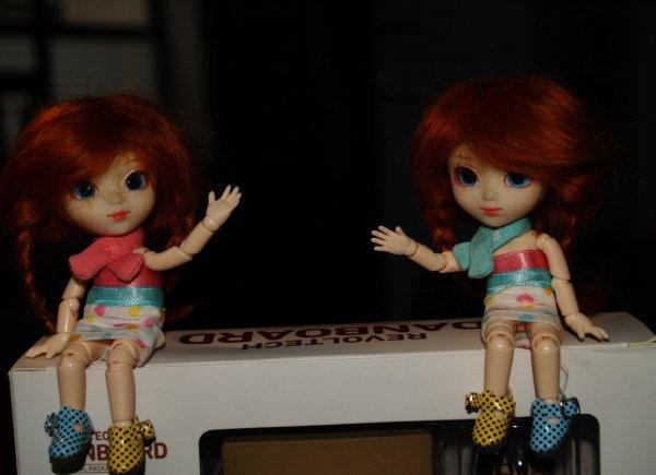 Custo des Loulouttes ! Carlie et Charlie ! <3 Part. 2 BONUS