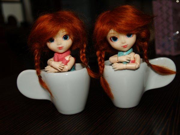 Carlie et Charlie ! ♥ 5eme et 6eme Doll