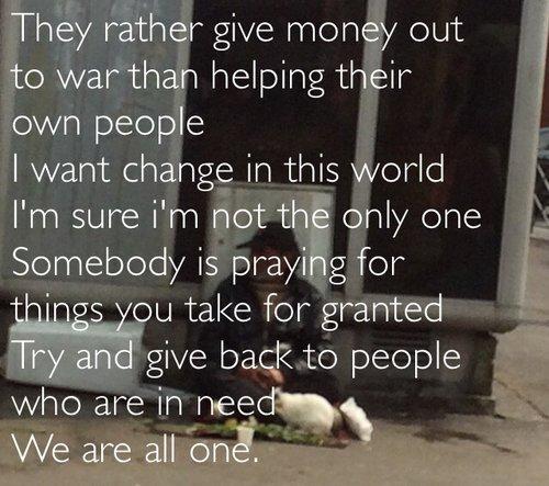 Le monde est grand mais égoïste