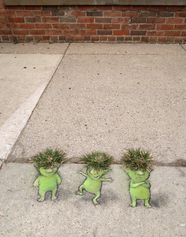 3 petits trolls !!