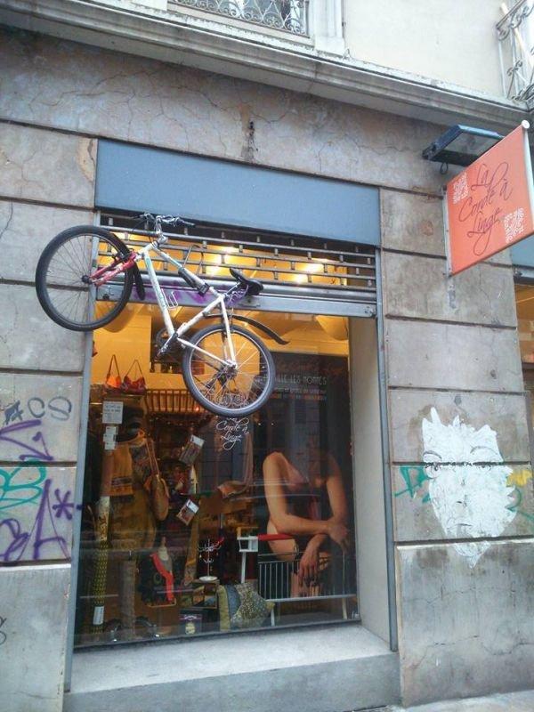 vélo volant !!