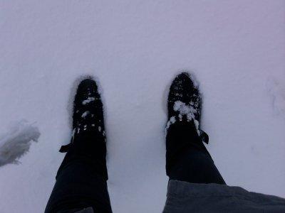 Photo de moi a la neige du 2011.01.27
