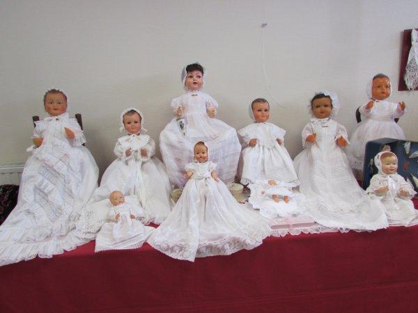 """Voici la partie """"baptême"""" de mon expo ..."""
