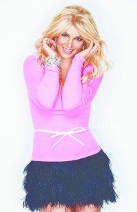 Britney Spears fait la couverture du magazine Lucky du mois de Décembre.