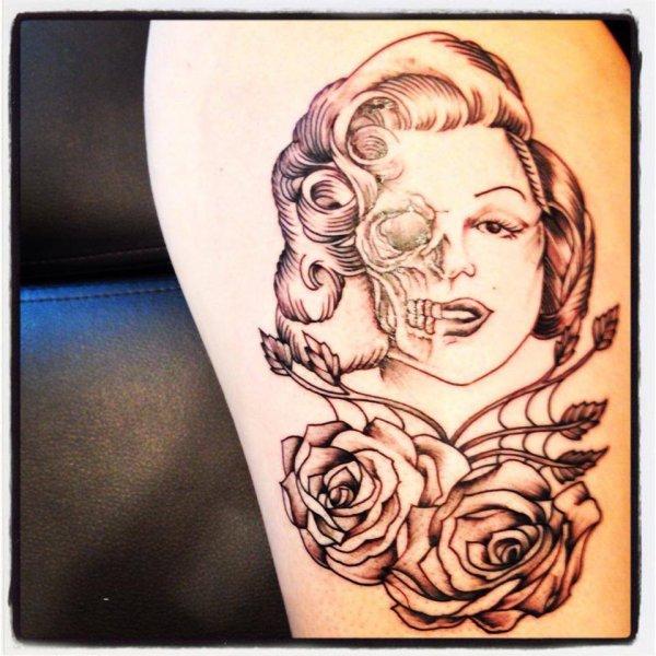 nouveau tatouage de nathalie