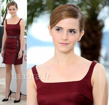 Emma Watson en christopher Kane-cannes 2013