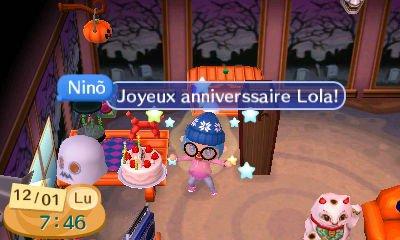 Joyeux anniversaire LOLA!!!! <3 <3 <3