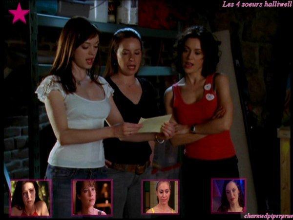 Les 4 soeurs de la série