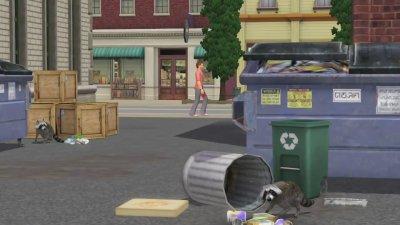 Sims 3 entre chien et chat