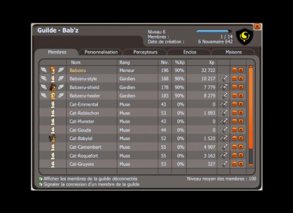 Nouvelle guilde (Babzeru)