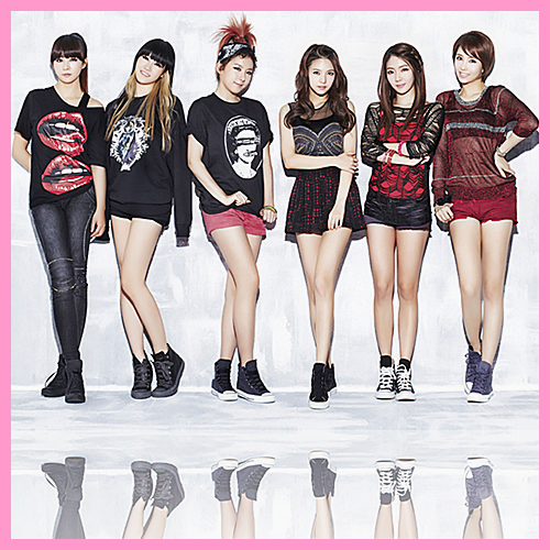 Groupe Girls Band 1