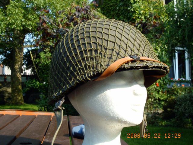 36. BELGIQUE - Le casque belge modèle OTAN 51