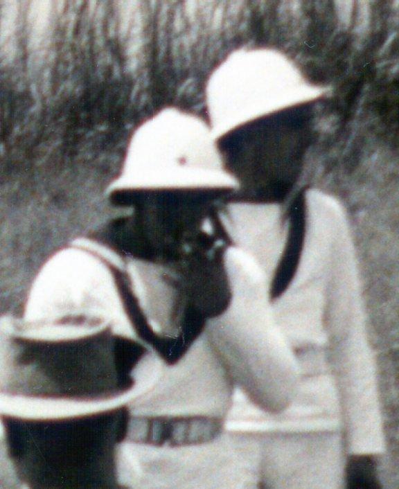 356. BELGIQUE - CONGO BELGE - Force Navale - Casque colonial