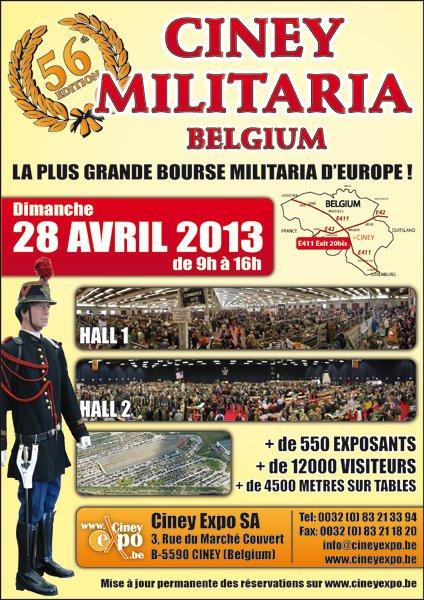 800. CINEY Militaria 28 avril 2013