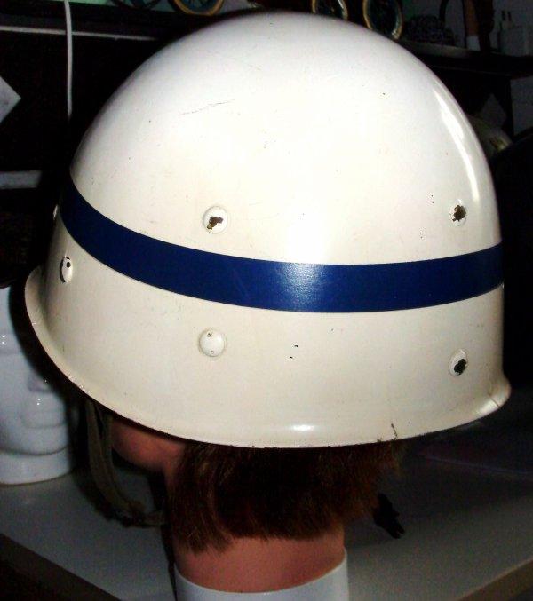 821. PAYS-BAS - Sous-casque de la Koninklijke Maréchaussée