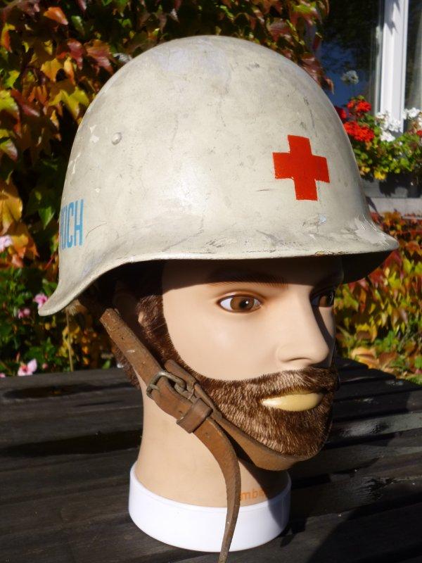 789.1 - POLOGNE - Casque de la Protection Civile