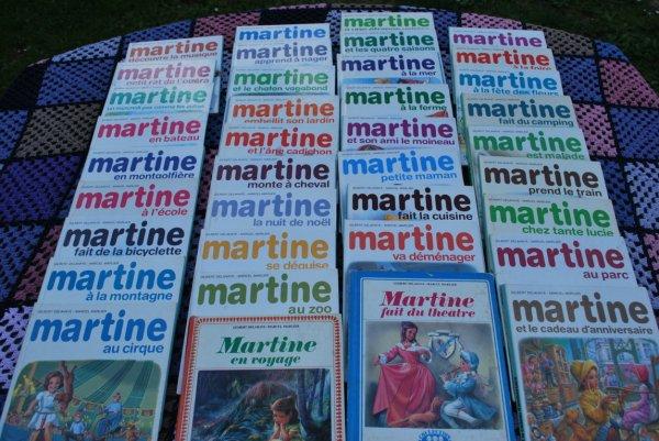 Elle a bercé toute mon enfance ... Martine